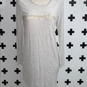 GAP Champagne dreams night gown